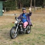 My Virago: Learning in the paddock